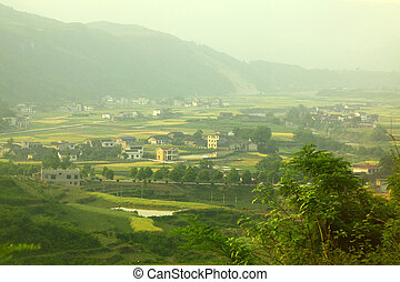 houses, сельхозугодий, китай
