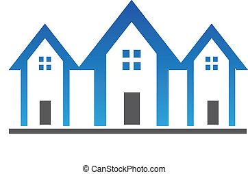 houses, три