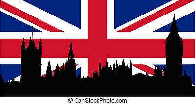 houses, флаг, uk, parliamen