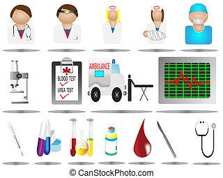 icons, больница