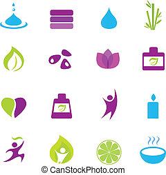 icons, дзэн, оздоровительный, воды