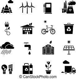 icons, задавать, экология