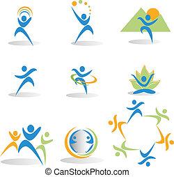 icons, йога, природа, социальное, здоровье