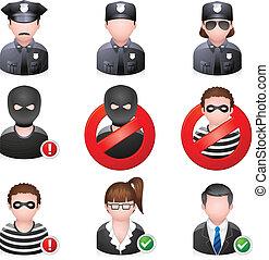 icons, люди, безопасность, -