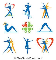 icons, фитнес