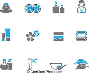 icons, duotone, -, спа