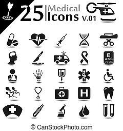 icons, v.01, медицинская