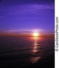 ii, восход, океан
