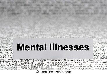 illnesses, умственный