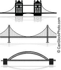 illustrations, мост