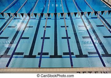 indoor, lanes, бассейн, плавание