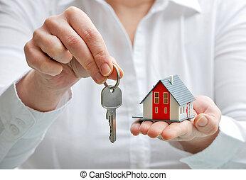 keys, дом
