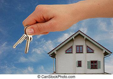 keys, handing, над
