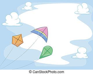 kites, задний план