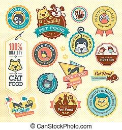 labels, задавать, stickers, животное