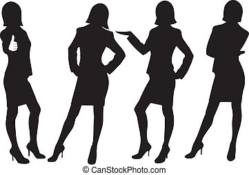 ladies, силуэт, бизнес