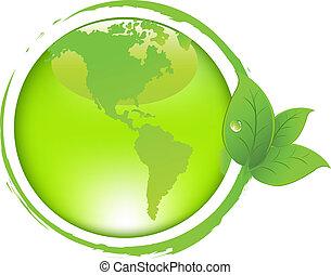leaves, земля, зеленый