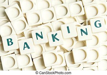 leter, банковское дело, сделал, слово, pieces