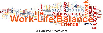 ?life, концепция, баланс, работа, задний план