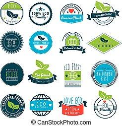 logos, люблю, eco, серии, земля, наш, дружелюбный