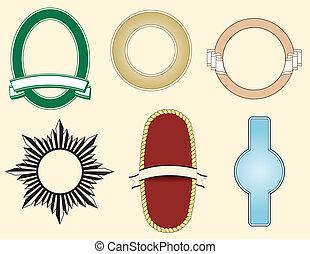 logos, шесть, elements