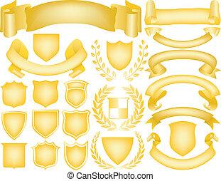 logos, elements