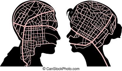 maps, разум