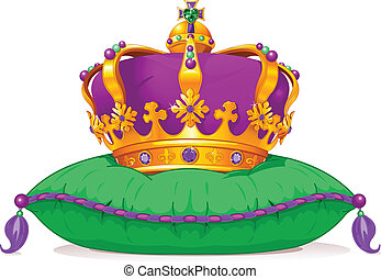 mardi, корона, gras