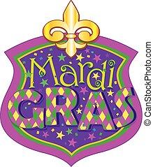 mardi, прославление, gras