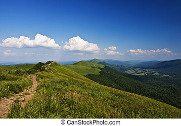 mountains, зеленый