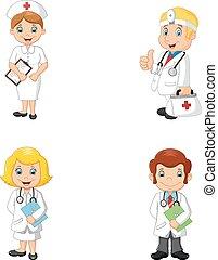 nurses, мультфильм, doctors