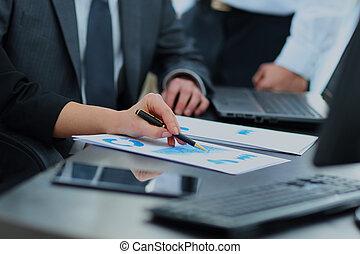 office., группа, за работой, бизнес, люди
