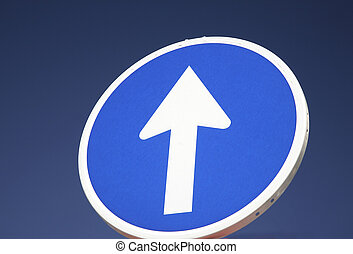 one-way, дорога, знак