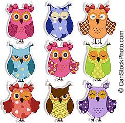 owls, мультфильм