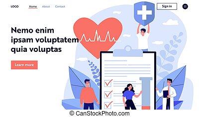 patients, врач, страхование, реклама, здоровье