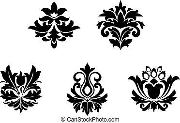 patterns, цветок