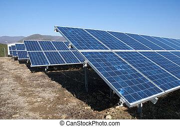 photovoltaic, panels, солнечный