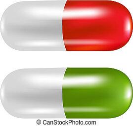 pills, цвет