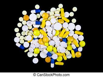 pills, черный