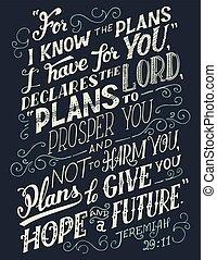 plans, знать, цитата, иметь, библия, вы