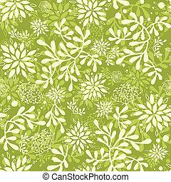 plants, подводный, шаблон, бесшовный, зеленый, задний план