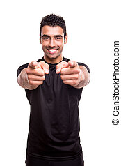 pointing, фитнес, инструктор