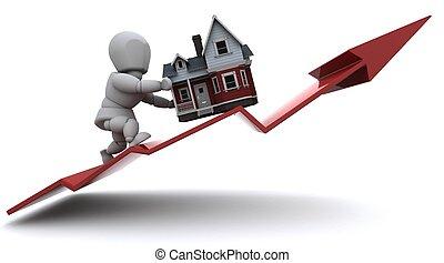 prices, имущество, поднимающийся