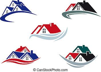 roofs, дом