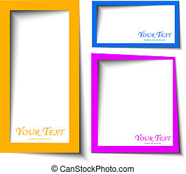 rounded, красочный, rectange, текст, абстрактные, boxes, дизайн, задний план