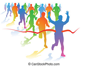 runners, марафон