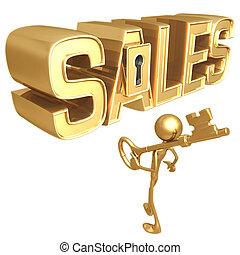 sales, ключ