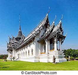 sanphet, дворец, prasat, таиланд