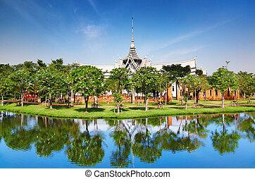 sanphet, prasat, дворец