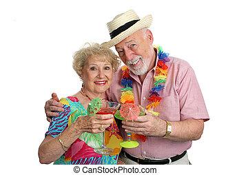 seniors, отпуск, cocktails